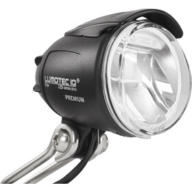 Busch + Müller Lumotec IQ Cyo Premium senso plus Lampka przednia LED, black